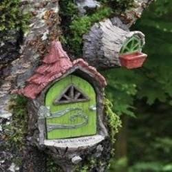 Fairy Garden House Fairy Landing Pad