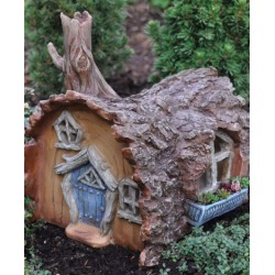 Fairy Garden House Log Cabin