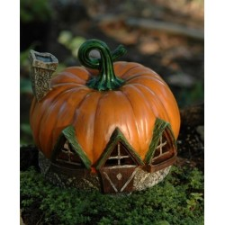 Fairy Garden House Pumpkin