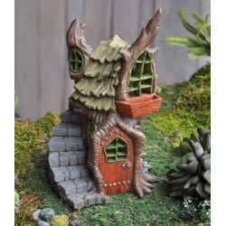 Fairy Garden House Stump Cottage