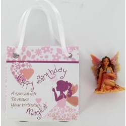 Fairy In Gift Bag Happy Birthday