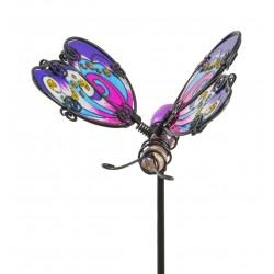 Fairy Garden Metal Accessories Butterfly Stake