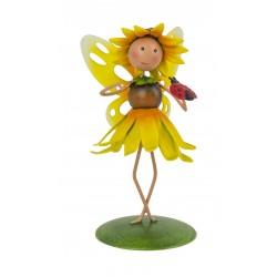 Fairy Garden Metal Accessories Mini Honey Sunflower