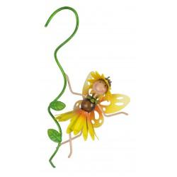 Fairy Garden Metal Accessories Pot Hanger Honey Sunflower
