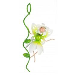 Fairy Garden Metal Accessories Pot Hanger Pearl Snowdrop