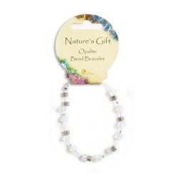 Gemstone Bead Bracelet Opalite