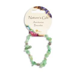 Gemstone Chip Bracelet Aventurine