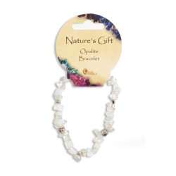 Gemstone Chip Bracelet Opalite