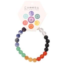 Chakra Gemstone Ball Bracelet
