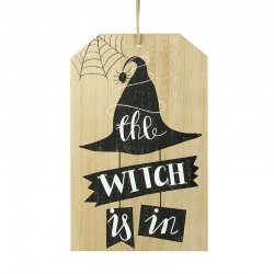 Wall Plaque The Witch Is In