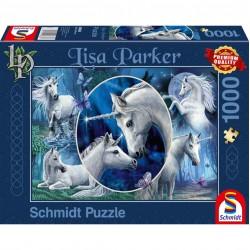 Lisa Parker Puzzle Mythical Unicorns