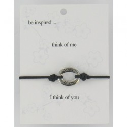 Be Inspired Sentiment Bracelet Think Of Me