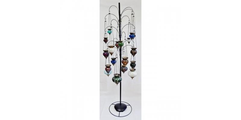 Mosaic Hanging Lanterns