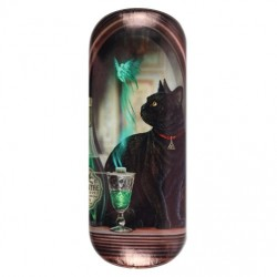 Glasses Case Absinthe Cat by Lisa Parker