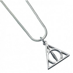 Harry Potter Necklace Deathly Hallows