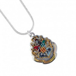 Harry Potter Necklace Hogwarts Crest