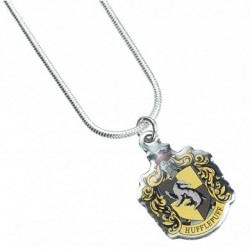 Harry Potter Necklace Hufflepuff Crest