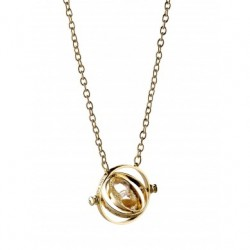 Harry Potter Necklace Time Turner (Spinning)