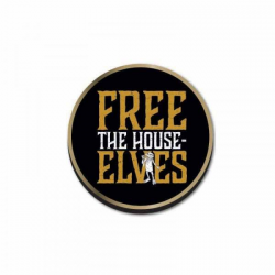 Harry Potter Pin Badge Free The House Elves