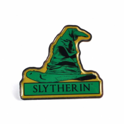 Harry Potter Pin Badge Slytherin Sorting Hat