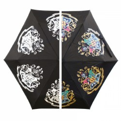Harry Potter Hogwarts Crest Colour Change Umbrella