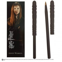 Harry Potter Wand Pen & Bookmark Set Ginny Weasley