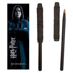 Harry Potter Wand Pen & Bookmark Set Severus Snape