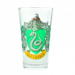 Harry Potter Large Glass Slytherin Crest