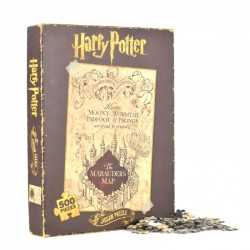 Harry Potter Marauders Map 500 Piece Puzzle