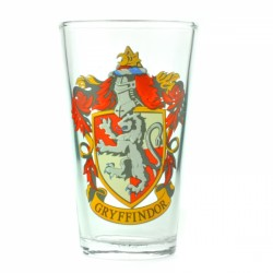 Harry Potter Large Glass Gryffindor Crest