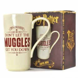 Harry Potter Latte Mug 'Don't Let The Muggles Get You Down'