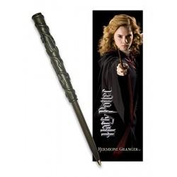 Harry Potter Wand Pen & Bookmark Set Hermione Granger
