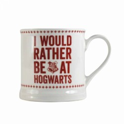 Harry Potter I Would Rather Be At Hogwarts Mug