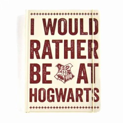 Harry Potter A5 Premium Notebook I Would Rather Be At Hogwarts