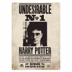 Harry Potter Small Tin Sign Undesirable No. 1