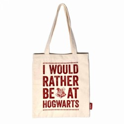 Harry Potter I Would Rather Be At Hogwarts Tote Bag