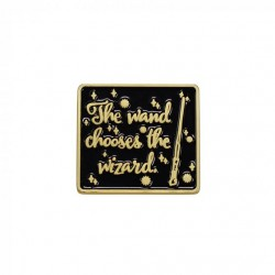 Harry Potter Pin Badge The Wand Chooses The Wizard