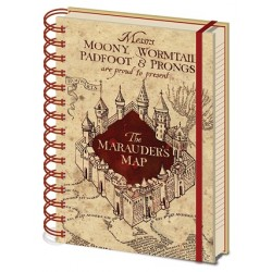 Harry Potter A5 Notebook Marauders Map