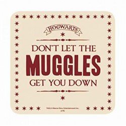 Harry Potter Coaster Don't Let The Muggles Get You Down