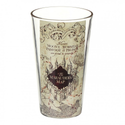 Harry Potter Large Glass Marauders Map