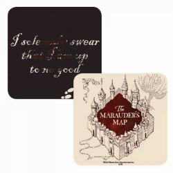 Harry Potter 3D Coaster Marauders Map