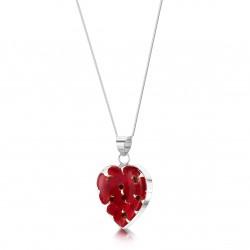 Poppy Heart Pendant PP18