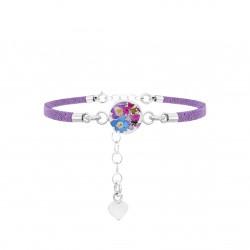 Purple Haze Round Bracelet TBR01