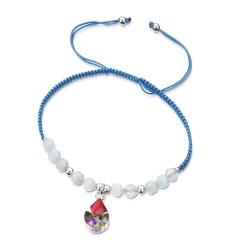 Country Garden Teardrop Bracelet With Aquamarine TGBR11