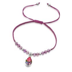 Country Garden Teardrop Bracelet With Amethyst TGBR12