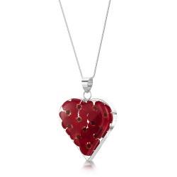 Poppy Heart Pendant PP10