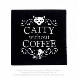 Alchemy Coaster Catty Without Coffee