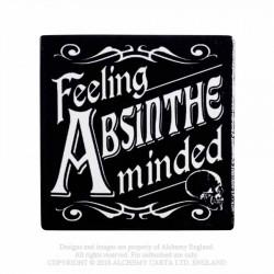 Alchemy Coaster Feeling Absinthe Minded