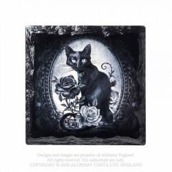 Alchemy Coaster Paracelsus Cat & Roses
