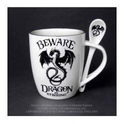 Alchemy Mug and Spoon Set Beware